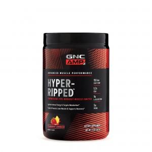 GNC AMP Hyper-Ripped, Formula Pre-Workout cu Aroma de Limonada de Capsuni, 317.76 g