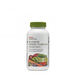 GNC  SuperFoods Maximum Greens™ Complete, 90 tb