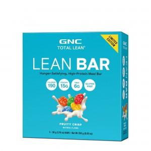 GNC Total Lean® Lean Bar, Baton Proteic, cu Aroma de Cereale cu Fructe, 50g