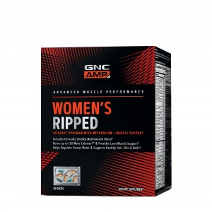 GNC AMP Women's Ripped Program VitaPack®, 30 pachete