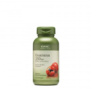 GNC Herbal Plus® Guarana 250 mg, 100 cps