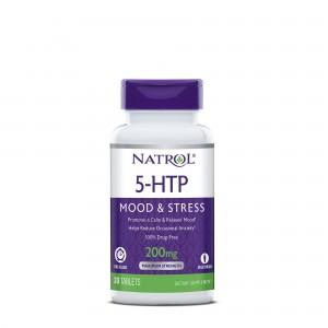 Natrol® 5-HTP 200 mg Mood & Stress, 30 tb